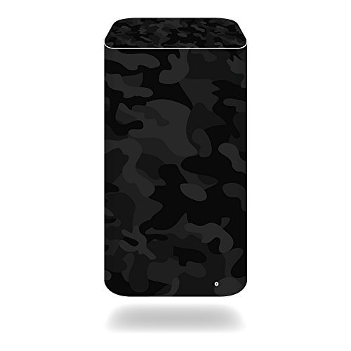 Station Airport Base Apple Extreme (MightySkins Protective Vinyl Skin Decal for Apple Airport Extreme Base Station wrap Cover Sticker Skins Black Camo)