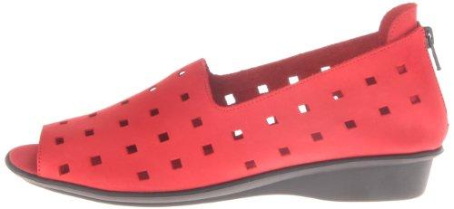 Evonne Nubuk Loafer Women's Red Meucci Sesto Dark xwPAR8x1