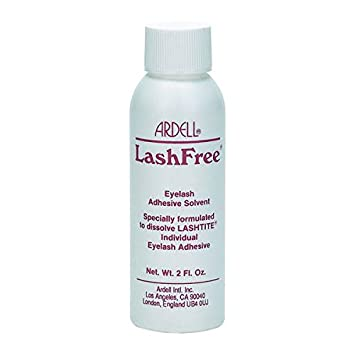 21204b301e0 Amazon.com : Ardell LashFree Eyelash Adhesive Remover 59ml/2oz by Ardell :  Beauty