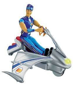 LAZYTOWN SPORTACUS SKY CHASER RESCUE: Amazon.co.uk: Toys ...