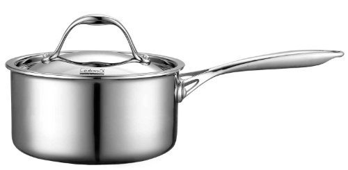 Cooks Standard Multi-Ply Clad Stainless-Steel 1-1/2-Quart Co