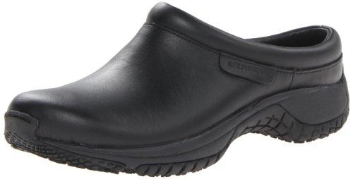 Merrell Women's Encore Pro Grip Slip-Resistant Work Shoe,Black,10 M US