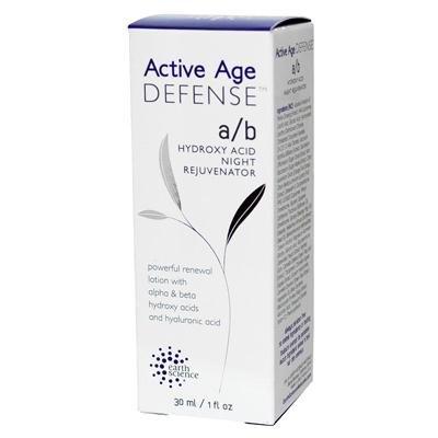 Earth Science Active Age Defense A B Hydroxy Acid Night Rejuvenator - 1 fl oz-pack of 1