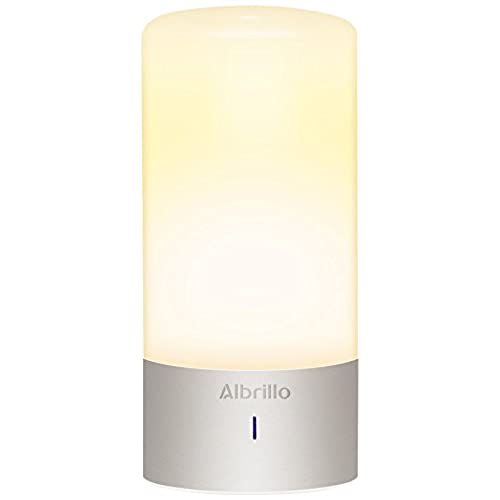 Exceptional Albrillo LL AL 008 Dimmable Bedside Lamp With Touch Sensor And Color  Changing Modes, Warm White