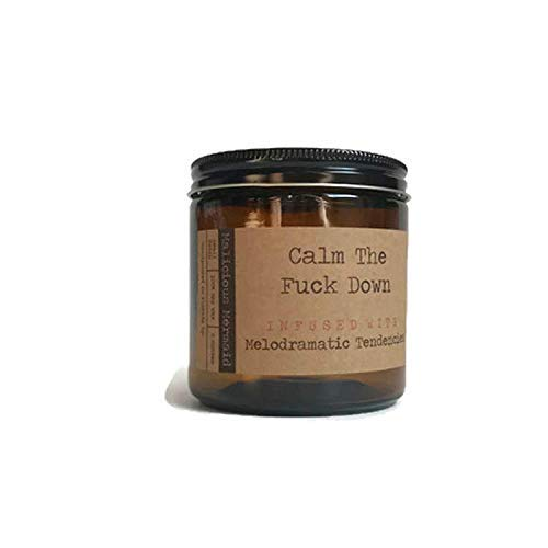 Calm The Fuck Down Premium Soy Wax Candle