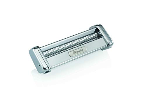 (Marcato 8322 Linguine Cutter Attachment, Made in Italy, Works with Atlas 150 Pasta Machine, 7 x 2.75-Inches)