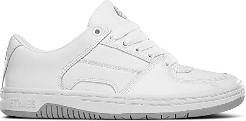 - Etnies Men Senix Lo White Grey Shoes Size 10.5