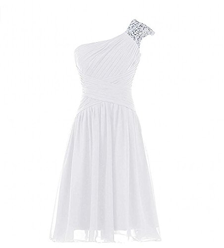 KA Beauty - Vestido - para mujer Marfil