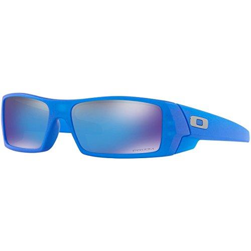 Oakley Men's Gascan Nonpolarized Rectangular Sunglasses, X-Ray Blue / Prizm Sapphire Lens, 60 - Blue Oakley Sunglasses Lenses