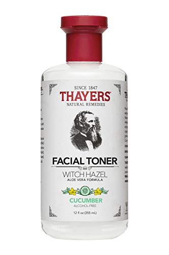 Thayer Cucumber Witch Hazel with Aloe Vera Formula, 12 Fluid Ounce, (Packaging may vary)