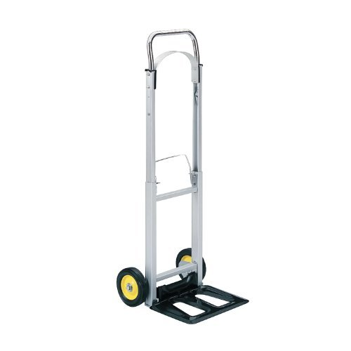 Safco Industrial Hand Trucks (Safco Hide-Away Office Industrial Folding Wheeled Luggage Storage Cart Aluminum Hand Truck by Safco)