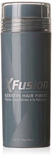 XFusion kératine cheveux fibres économie, brun moyen, 0,98 oz.