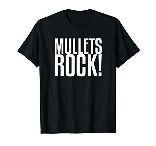 Mullets Rock   Redneck Shirt -