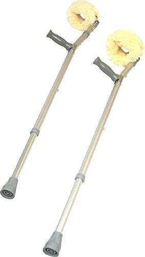 Sheepskin 121 Forearm Crutches Covers