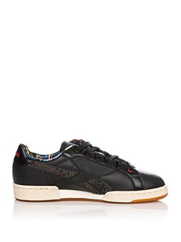 REEBOK Zapatillas Npc Uk Basquiat Negro / Rojo EU 43 (US 10)
