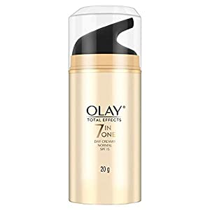 Olay Day Cream Total Effects 7 in 1, Anti-Ageing SPF 15, 20g