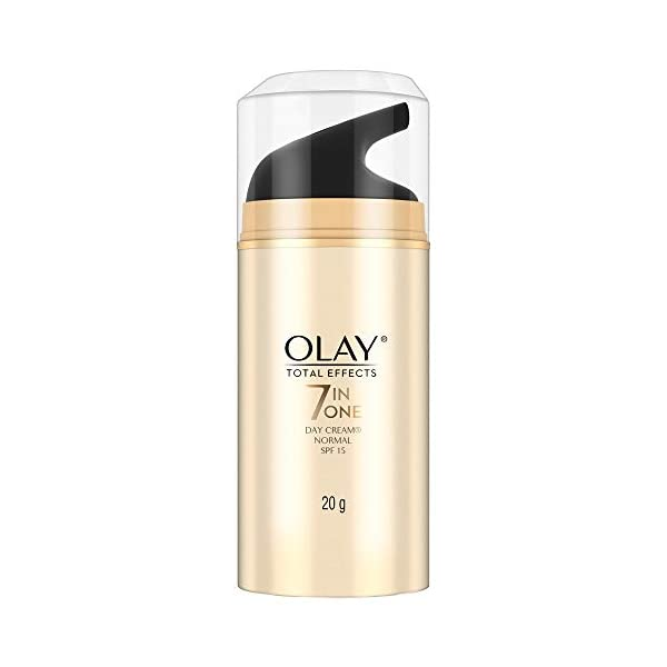 Olay Total Effects 7-in-1 Anti Aging SPF15 Skin Day Cream, Normal, 20g 2021 July Helps fight the 7 signs of skin ageing to give you visibly younger looking skin Helps fight the 7 signs of skin ageing to give you visibly younger looking skin Balances and evens out your skin tone