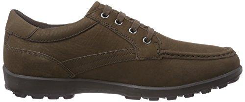 Cordones Mantra Braun Hombre de Geox D Cuero U C6004chestnut con Zapatos XwUAO