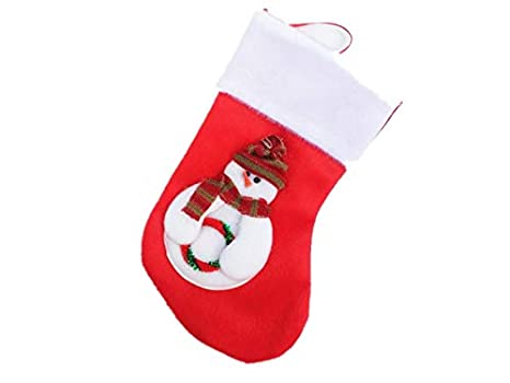 Fougnogkisss regalo di natale cartone animato calze di natale