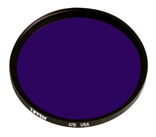 Tiffen 6247B 62mm 47B Filter (Blue)