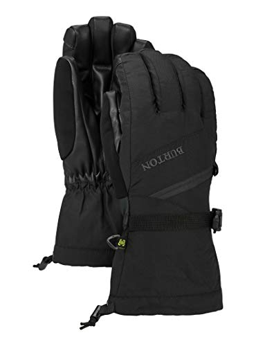 Gore Tex Insulated Gloves - Burton Women's gore-tex glove, True Black, X-Small