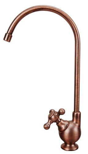 Drinking Faucet, Ceramic Disc Cartridge, Antique Copper Finish, By Plumb USA