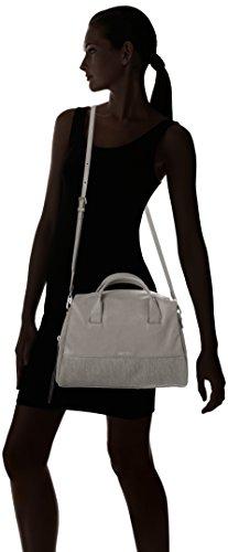 Calvin Klein Maddie - Bolso de asas para mujer talla única Negro