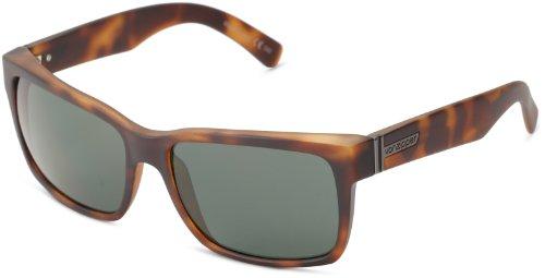 VonZipper Elmore Square Sunglasses,Tortoise Satin,One Size (Vintage Von Zipper Sunglasses)