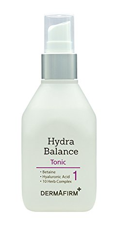 Dermafirm Hydra Balance Tonic with Witch Hazel, Moisturizing Toner, 4oz (Hydra Tonic)