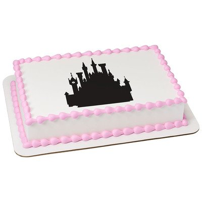 Brilliant Castle Cake Toppers Shop Castle Cake Toppers Online Personalised Birthday Cards Beptaeletsinfo