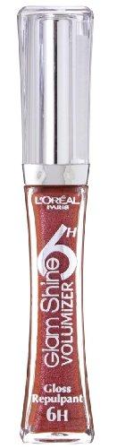 L'Oreal Paris Glam Shine 6H Lip Gloss - Endless Carmine (506)