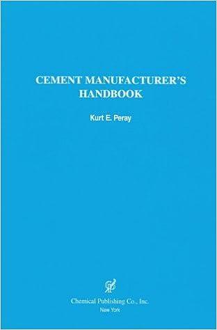 Amazon cement manufacturers handbook 9780820603681 kurt e cement manufacturers handbook fandeluxe Gallery
