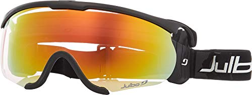 0573c87555aa01 Julbo Eyewear Unisex Sniper M Black Black with Zebra Light Photochromic Lens  One Size