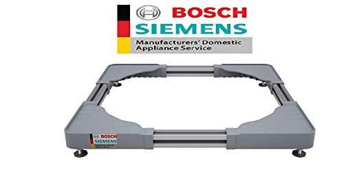 Bosch Siemens Original Adjustable Pedestal for all Front Load Washing Machine (Washing Machine stand)