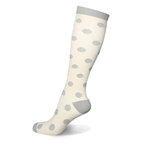 HLTPRO 20-30 mmHg Compression Socks Women – Mens Compression Socks for Running, Nurse, Flight, Travel