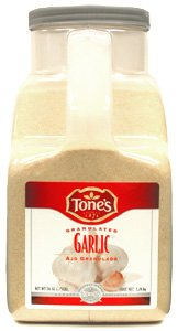 Tone's Granulated Garlic - 7.25 lb. bottle