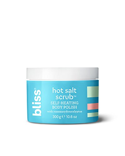 , Self-Heating Body Polish | Warming Scrub to Exfoliate, Heal, and Smooth Skin | Straight-from-the Spa | Paraben Free, Cruelty Free | 10.6 oz (Bliss Exfoliating Scrub)