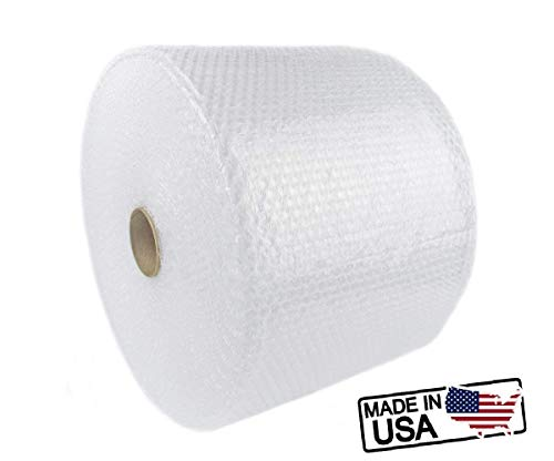 SIMPLE RELAX Simple Wrap, 175 ft x 12 inches Small Bubble 3/16 inches Cushioning Wrap, Perforated Every 12 inches Moisture Resistant. Made in USA (175 ft X 12 inches) by SIMPLE RELAX