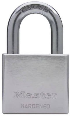 - Master Lock 532DPF 2-Inch Chrome-Plated Solid Steel Body Padlock - Quantity 4