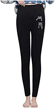 Appoi Womens Super Thick Leggings Warm Winter Fleece Lined Stretch Pants No See-Through Leggings for Outdoors