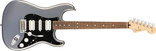 Fender Player Series Stratocaster HSH - Pau Ferro Fingerboard - Silver (Fender Modern Player Hsh Stratocaster Electric Guitar)