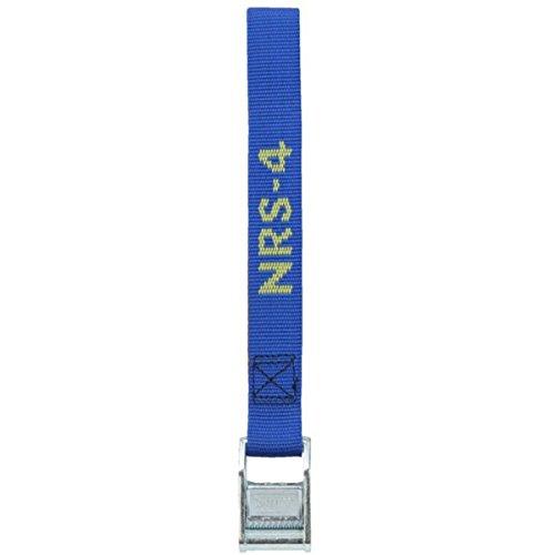 NRS 1-Inch Heavy-Duty Tie-Down Strap, Blue (4-Foot)- ()
