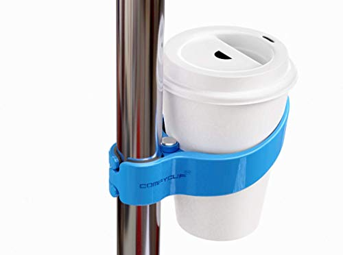comfycup - The World's First Portable Public Transportation Cup Holder for Trains Buses Bikes (Portable Cup Holders)