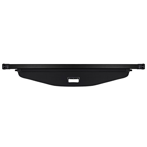 (CUMART Retractable Cargo Cover Rear Trunk Security Shield Luggage Shade Black For 2018 2019 Chevy Equinox)