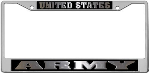 Army License Plate Frame Holder from
