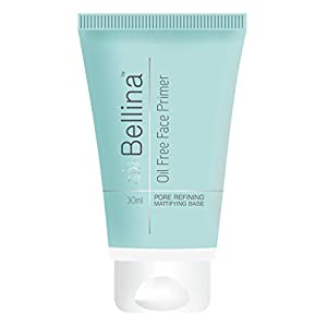 Bellina Face Primer Makeup, Oil Free Matte Base Lightweight, Soften Blemishes Pores for All Skin Types 30 ml, Long…