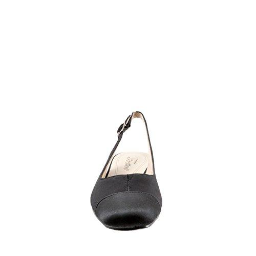 Trotters Dea Slingback Women's Black Micro Pump aCaBxw1