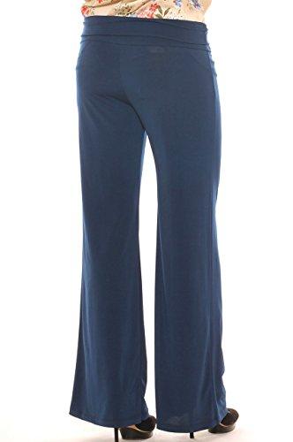 Tulip Femme Bleu Pantalon La Foncé Pwvdg