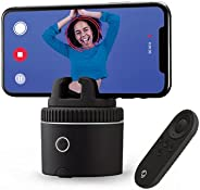 Pivo Pod Silver with Remote - Fast Auto Tracking Phone Holder Powered by AI - 360 Rotation Camera Stand - Acti