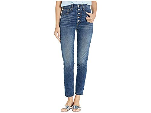 Joe's Jeans Women's x We Wore What Danielle High Rise Jeans, Vintage Medium, Blue, 26
